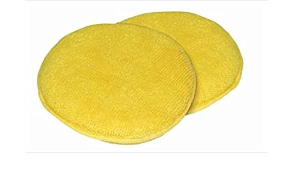 Carrand 40123 The Gripper Microfiber 5 Round Applicator Pad