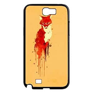 Customized Dual-Protective Case for Samsung Galaxy Note 2 N7100, Sly Fox Cover Case - HL-699147