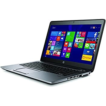 HP EliteBook 840 G2 Notebook PC - Intel Core i5-5200U 2.1GHz 8GB 180GB SSD Webcam Windows 10 Professional (Renewed)