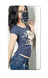 New Arrival Case Specially Design For Galaxy S5 (arushi Viraniactress Beautiful Beauty Bollywood Brunee Celebrity Cute Eyes Face Girl Hair Smile Indian Lips Model Pose Prey Sexy )