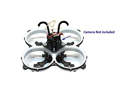 Usmile WQ65 65mm Ducted Micro Carbon Fiber Quadcopter Frame Kit for FPV racing Support for 1102 1103 1104 1105 1106 Motor 1.5 1.6 inch 38-40.5mm props 4 in 1 ESC F3 Femto PIKO BLX Flight Controller