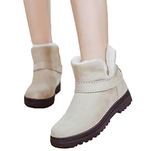 Stivali Popolare Scarpe da in Ragazze Basso Donna Beige Ragazze in Caldo   1c1d00