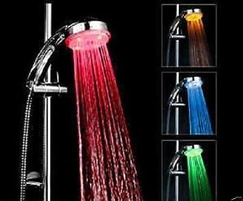 Rubinetto universale con filtro antispruzzo 7 colori RGB LED colorato per doccia rubinetto da bagno per cucina e bagno TankMR