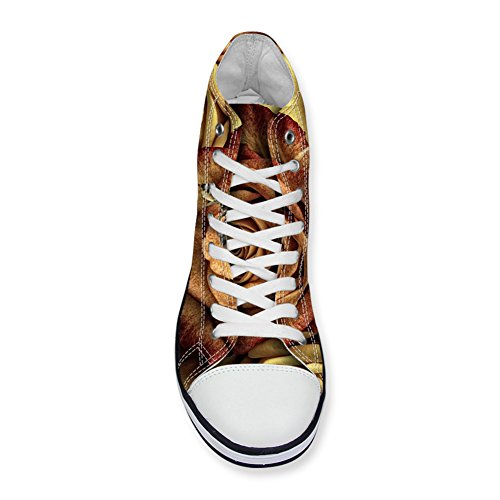 IDEA Canvas 8 Girls Fashion HUGS Floral Top Sneakers High For Floral Women ZdqZtxA