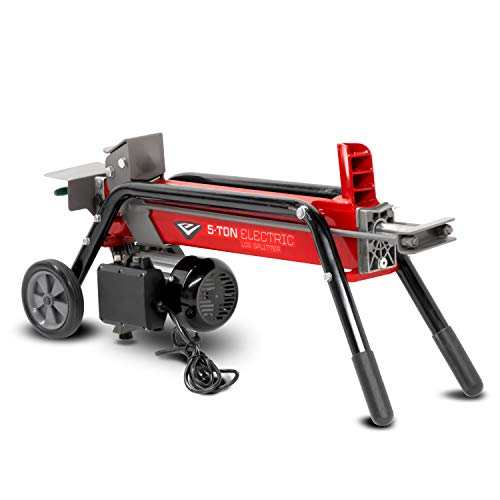 Earthquake 32228 W500 Electric Log Splitter, Red