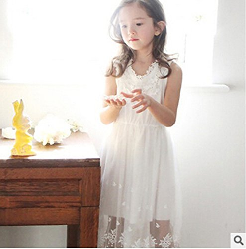 03797618759 Bow Dream Flower Girl s Dress Vintage Lace Off White 8 available in ...