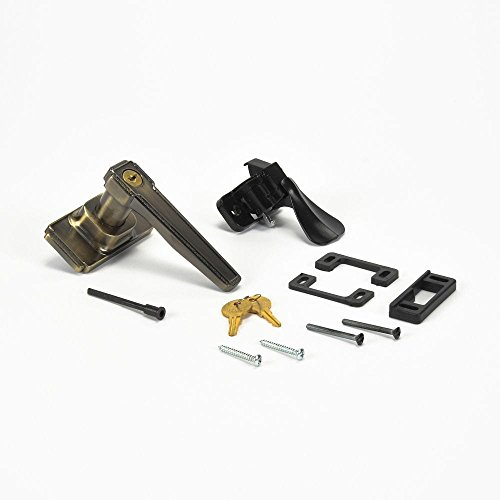 Sears 17656 Storm Door Latch And Handle Assembly