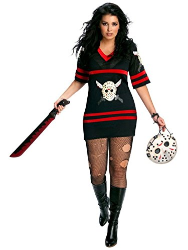 Adult Full Figure 14-16 Friday the 13th Miss Voorhees Costume]()