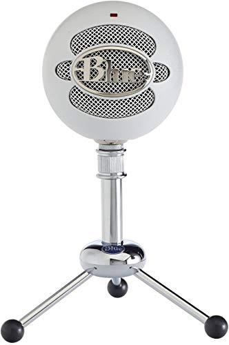 Blue Microphones Snowball-MW USB Microphone, Textured White