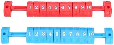 テーブルサッカー スコアカウンター 2個 フーズボールスコアリングユニット 評価記録スコアボード 標準 フーズボールテーブル用