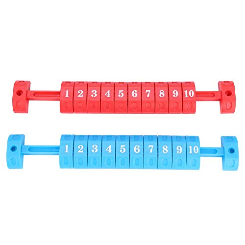 Scoring Unit, 2 Foosball Scoring Units Foosball Scoreboard for Standard Foosball Tables(Red & - Unit Scoring