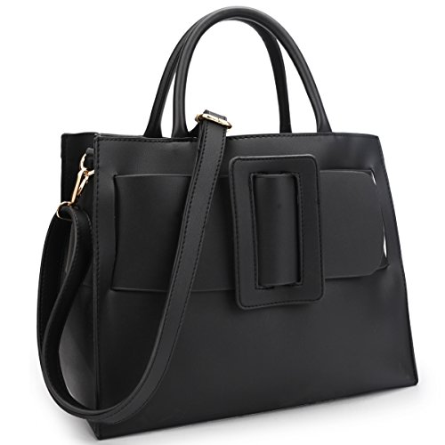 - Women Designer Vegan Leather Handbags Fashion Satchel Bags Shoulder Purses Top Handle Work Bags