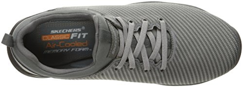 Skechers Heren Larson Omero Oxford Grijs