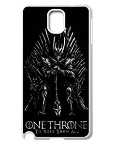 SROUK TV Show Series Design Protective Cases Game of Thrones Plastic Cover Case for Samsung Galaxy Note 3-06