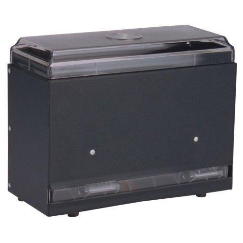 Traex 3825-06 Straw Boss Black 1-Sided Jr. Straw Dispenser by Vollrath