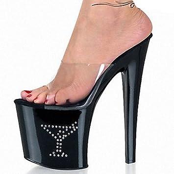4138fd6ebc5 LXILX Women s Heels Spring Summer Fall Comfort Novelty Club Shoes PVC  Wedding Dress Party   Evening