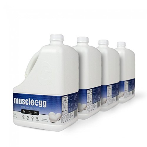 100% Liquid Egg Whites (4 gallons) by MuscleEgg