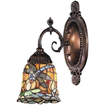 Tiffany Roman 1 Light Wall Sconce Amazon Com