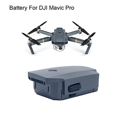 Inverlee 3830mAh Intelligent Flight Battery for DJI Mavic Pro QuadCopter Drone (Dark Gray) by Inverlee