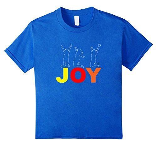 Kids Joy T-Shirt Unspeakable Joy 6 Royal Blue