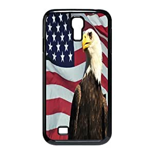 Cool PaintingFashion Cell phone case Of American Flag Bumper Plastic Hard Case For Samsung Galaxy S4 i9500