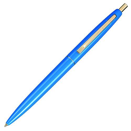 BIC click Gold expression knock oily ballpoint pen Blue CFCGBLU07BLKJ