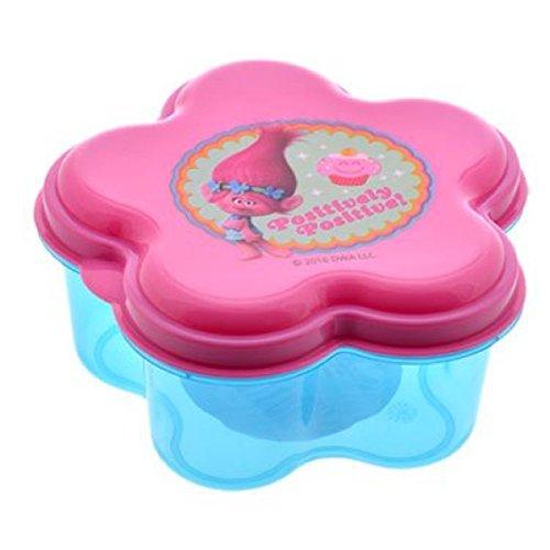 Dreamworks Trolls Flower Snack Container BPA Free