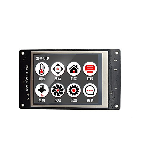 Sunhokey MKS TFT32 3D Printer Screen Touch Screen Smart Controller Display 3.2inch Support APP/BT/Editing/4 Languages