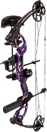 Quest Radical Left Hand Package, AP Purple, 17.5-30-Inch/40-Pound