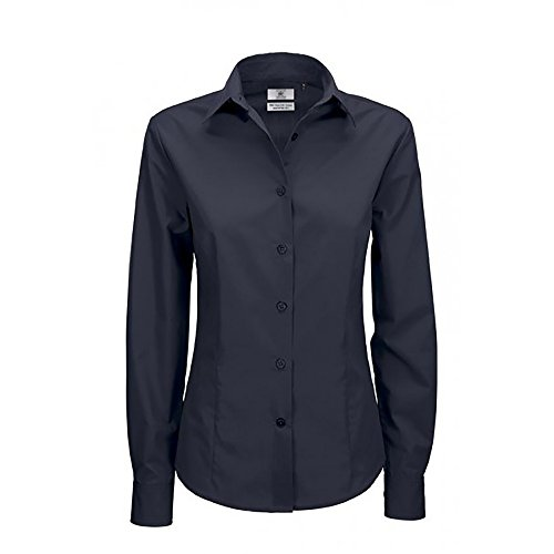 B Camisa Long Smart Women's 000 navy Mujer Footwear amp;c Sleeve Bc Para Azul Blouse 5xqw8Xnx