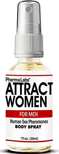 PhermaLabs Pheromones Body Spray For Men- 1.0 oz- Attract Beautiful Women Instantly- Highest Concentration Of Pheromones Possible- Increases Sex Drive- Fresh & Long-lasting Smell