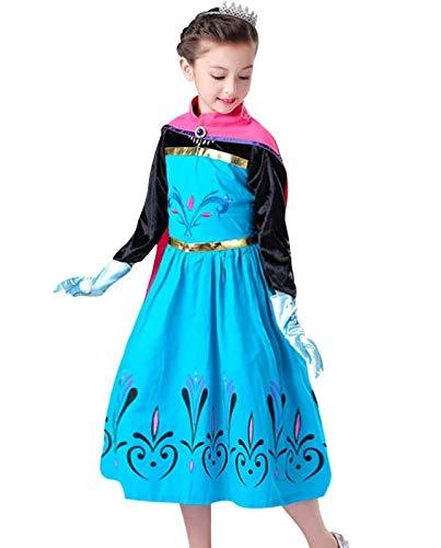 6049369b770c La Señorita Vestito Elsa Frozen abito Incoronazione costume Principessa +  Frozen Collana (2-3 anni - 110): Amazon.it: Prodotti per animali domestici
