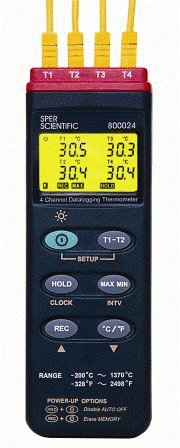 Sper Scientific 800023 Type K Thermocouple Thermometer Taylor Ready System