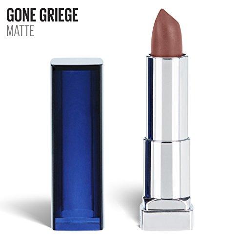 Maybelline Labial en Barra Efecto Demi Matte Color Sensational 760, Gone Griege, 4.2 g