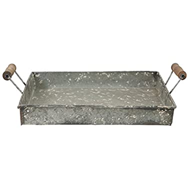 Rustic Metal Farmhouse Tray (Medium)