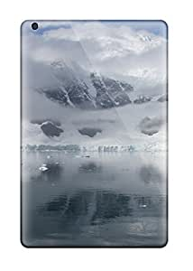 Excellent Ipad Mini/mini 2 Case Tpu Cover Back Skin Protector Cold Winter Lake