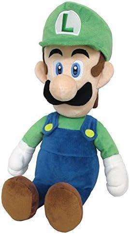 "GENUINE Super Mario Bros Mario Plush All Star 14/"" MEDIUM Little Buddy 1583"