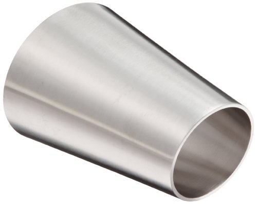DixonB32W-G300200P Stainless Steel 304 Polished Fitting, Weld Eccentric Reducer, 3