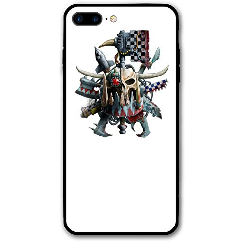 iPhone 7/8 Plus Warhammer Fantasy Battle Ork Figurine Robot Cases for Apple -