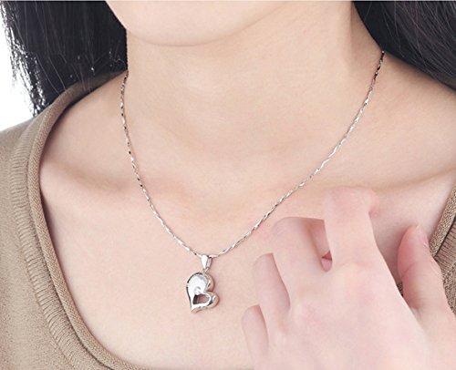 Amazon.com: Collares para parejas, de plata esterlina ...