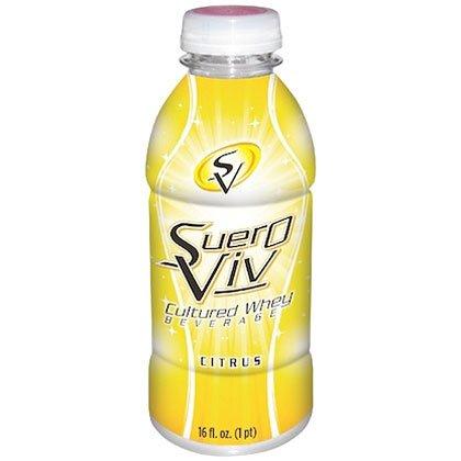 SueroViv SueroGold (12 pack, 16 oz. each) (SueroViv Citrus)