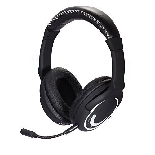 Cheap HUHD 2.4Ghz Wireless Gaming Headset Stereo Sound for PS4, PS3, Xbox 360 and PC Detachable Microphone Noise Cancelling