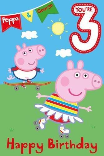 Amazon Gemma International Peppa Pig George Age 3 Birthday