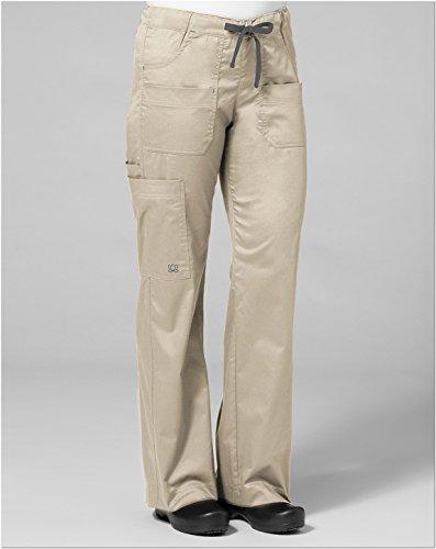 Womens Bootcut Khaki Pants - 4