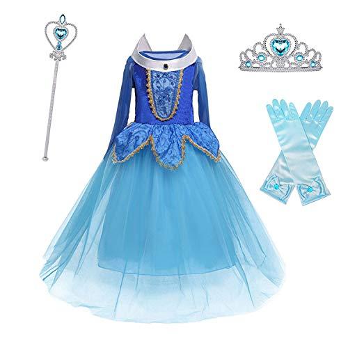 Sleeping Beauty Fancy Dress Costumes - HNXDYY Aurora Princess Dress Girls Sleeping