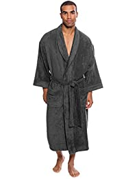 5913d5e005 Texere Men s Luxury Terry Cloth Bathrobe - Soft Spa Robe for Him  (EcoComfort)