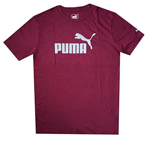 puma-men-1-logo-t-shirt-tee-m-rhododendron
