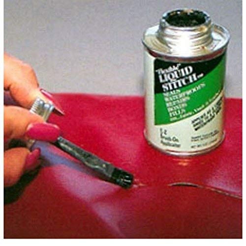 Liquid Stitch Flexible Repair Adhesive Leather Vinyl Canvas Fabric - Jackets Leather Glue For