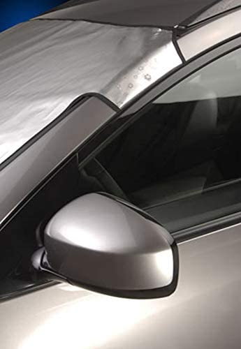 Intro-Tech MD-51-S Silver Custom Fit Windshield Snow Shade for Select Mercedes-Benz C117 CLA45 Models