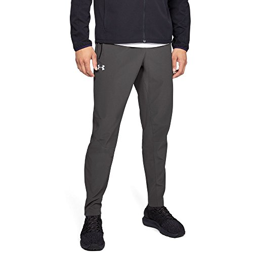 Under Armour Men's Outrun The Storm Pants, Charcoal (019)/Reflective, Large by Under Armour (Image #1)